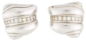 Kieselstein-Cord Diamond Caviar Clip-On Earrings