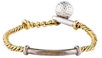 Pomellato Two-Tone ID Sphere Bracelet