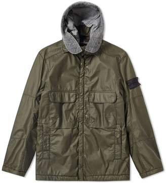 Stone Island Shadow Project Poly-Hide Garment Dyed Hooded Parka