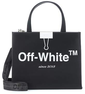 Off-White Box Mini leather shoulder bag