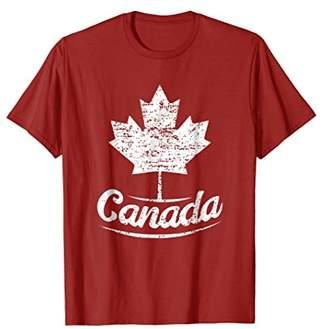 Vintage Canada Flag T-Shirt Canadian Flag Maple Leaf