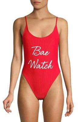 Private Party Bae Watch Bali One Piece Swimsuit
