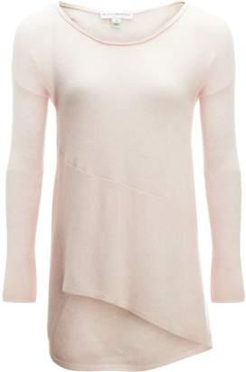 White + Warren Hi Lo Asymmetrical Pullover Sweater - Women's
