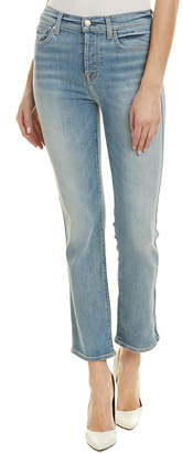 7 For All Mankind Seven 7 Edie Vintage Azure High-Rise Straight Crop