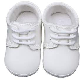 Little Things Mean a Lot Leather Crib Shoe