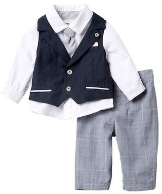Miniclasix Vest, Shirt & Pants Set (Baby Boys)