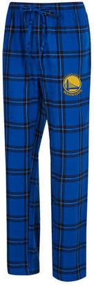 Concepts Sport Men's Golden State Warriors Homestretch Flannel Sleep Pants