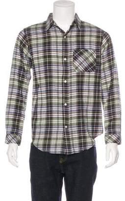 Current/Elliott Plaid Flannel Shirt w/ Tags