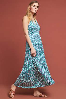 Maeve Mabel Halter Maxi Dress