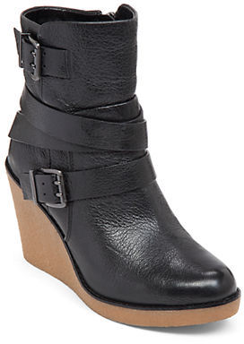 BCBGeneration Bcbgeneration Finland Leather Wedge Boots