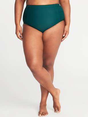 Old Navy High-Rise Smooth & Slim Plus-Size Swim Bottoms