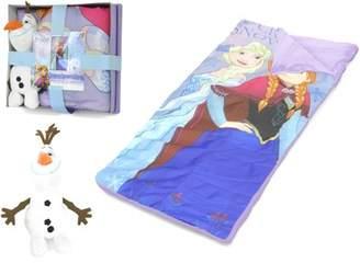 Disney Frozen Nap Mat with Bonus Figural Pillow