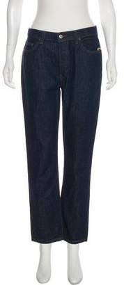 Reformation Mid-Rise Straight-Leg Jeans w/ Tags