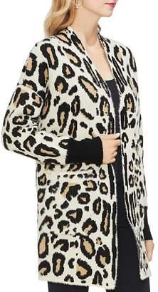 Vince Camuto Cheetah Knit Cardigan