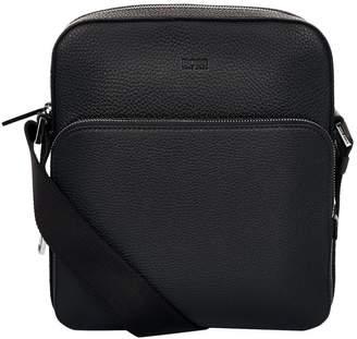 HUGO BOSS Grained Leather Bag