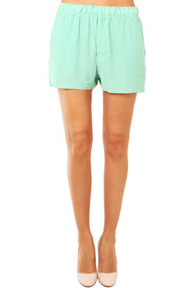 Acne Studios Bacall Crinkle Shorts