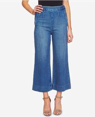 CeCe Cotton Culotte Jeans