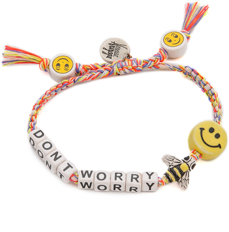 Venessa Arizaga Dont Worry Bee Happy Bracelet $55 thestylecure.com
