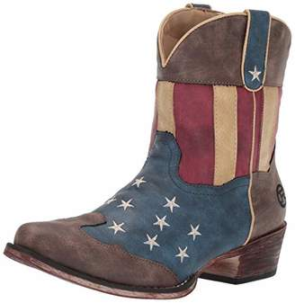 Roper Women's American Patriot Western Boot 6.5 D US