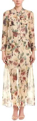 Haute Hippie Romanova Silk Shirtdress