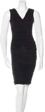 Alice + Olivia Alice + Olivia Ruched Bodycon Dress