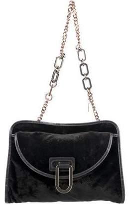Stella McCartney Velvet Shoulder Bag