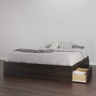 Tribeca Nexera Queen Size 3 Drawer Storage Bed, Ebony