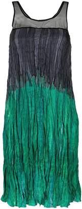 M·A·C Mara Mac gradient effect ruched dress