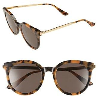 Women's Gentle Monster 'Didi A' 52Mm Retro Sunglasses - Dark Tortoise $255 thestylecure.com