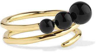Ippolita Nova 18-karat Gold Onyx Ring