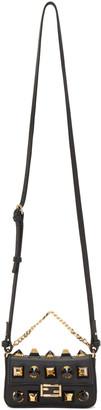 Fendi Black Micro Baguette Bag $1,695 thestylecure.com