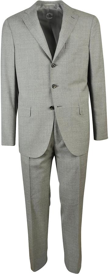 CarusoCaruso Indy Three Button Suit