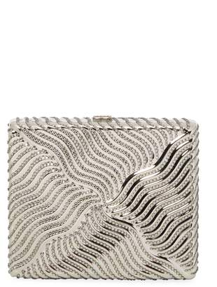 Judith Leiber Women's Square Beaded Box Clutch