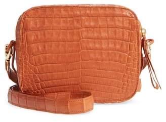Nancy Gonzalez Genuine Crocodile Crossbody Bag