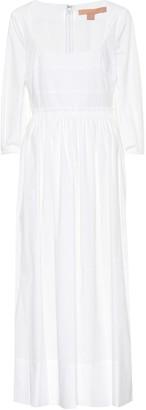 Brock Collection Ondina stretch-cotton midi dress