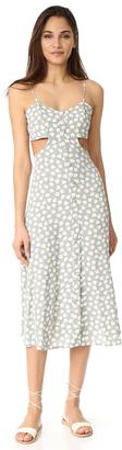Flynn Skye Mallory Midi Dress $171 thestylecure.com
