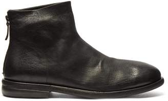 Marsèll Leather Boots - Mens - Black
