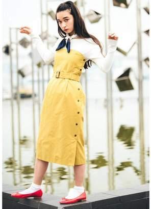 aquagirl (アクアガール) - エージー バイ アクアガール AG by aquagirl 【2WAY】クリアツイルベアトップワンピース (マスタード)