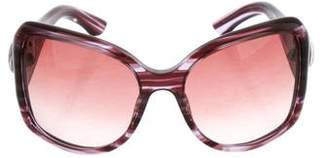 Gucci GG Striped Sunglasses