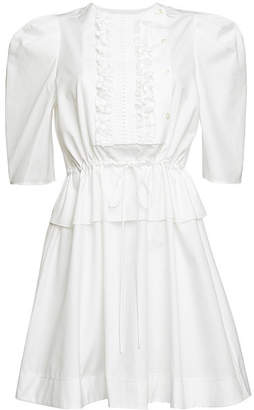 See by Chloe Cotton Drawstring Waist Dress