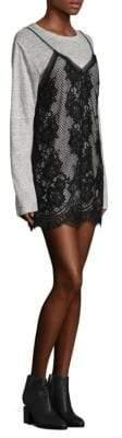 KENDALL + KYLIE Slip Dress Tee Combo