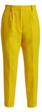 No.21 No. 21 No. 21 Women's Cuffed Trousers - Sun Yello - Size 40 (4)