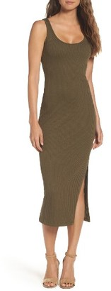 Women's French Connection Tommy Ribbed Tank Dress $98 thestylecure.com