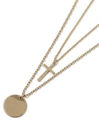 Topman Mens Gold Cross Necklace*