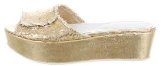 Amélie Pichard Guy Wedge Sandals