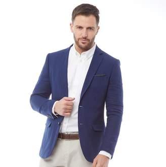 8f711a44d French Connection Mens Linen Blazer Soft Blue