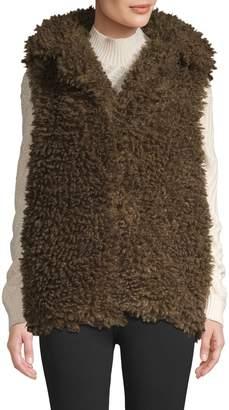 RENVY Faux Fur Shaggy Vest