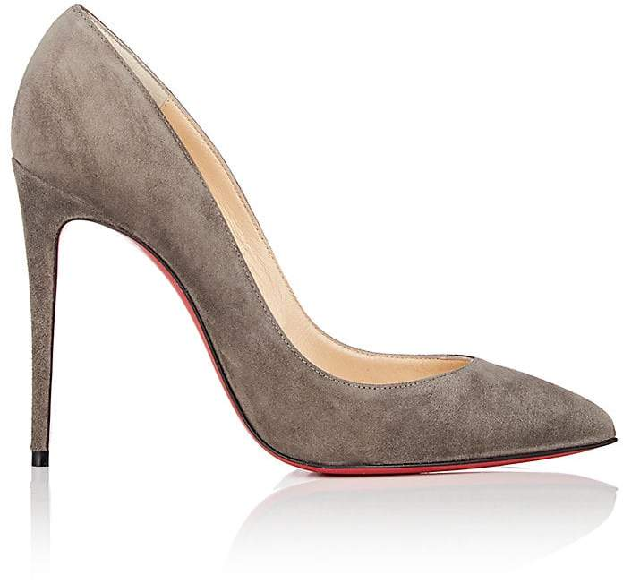 Christian Louboutin Women's Pigalle Follies Suede Pumps