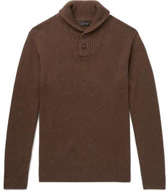 J.Crew Shawl-Collar Merino Wool-Blend Sweater