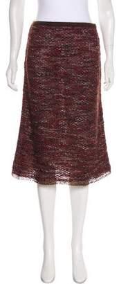 Max Mara Knit Knee-Length Skirt